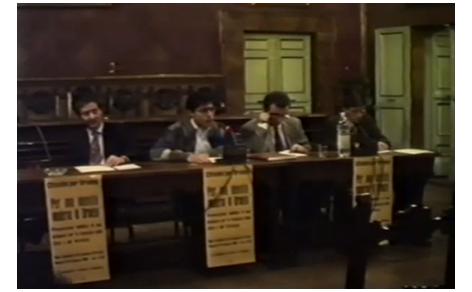 Luca Coscion ad un dibattito ad Orvieto
