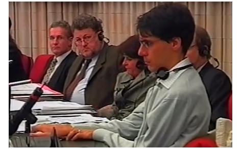 Luca Coscioni all'audizione al Parlamento Europeo