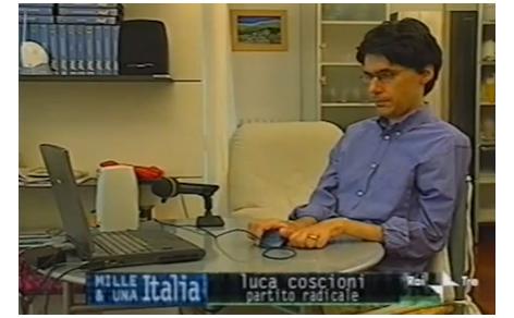 Luca Coscioni e Maria Antonietta