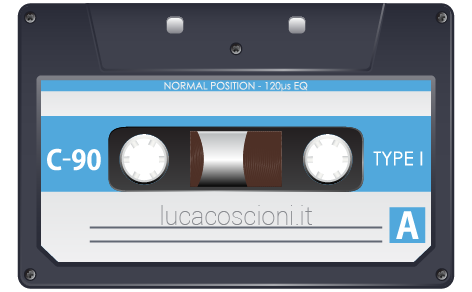 Icona cassetta audio