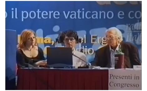 Maria Antonietta Farina, Luca Coscioni e Marco Pannella