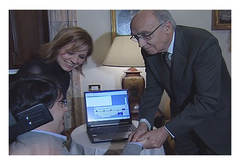 L'incontro con il Premio Nobel Josè Saramago a Siena