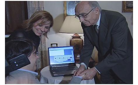 Luca Coscioni incontra il premio Nobel Josè Saramago