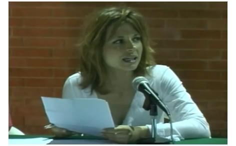 Primo piano di Maria Antonietta Farina Coscioni
