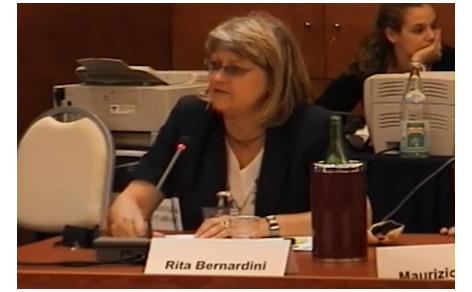 Primo piano di Rita Bernardini