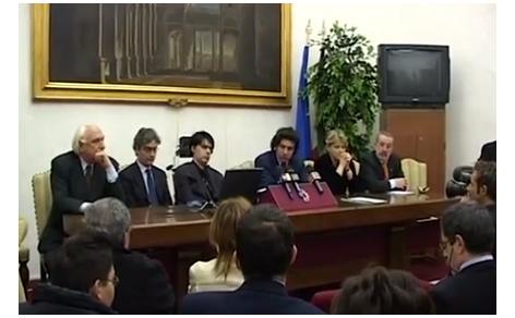 Pannella, Coscioni, Turco e Cappato per il Comitato Referendario