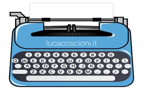 Icona macchina da scrivere