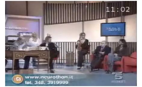 Studio del Maurizio Costanzo Show Mattina