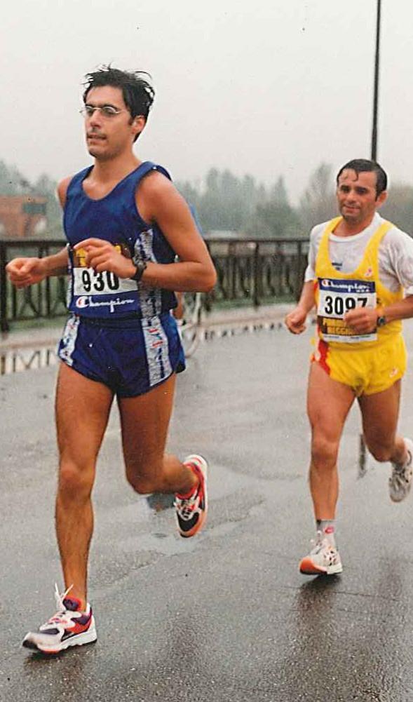Luca Coscioni corre la maratona
