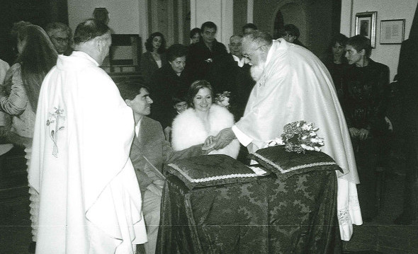 Foto del Matrimonio tra Luca e Maria Antonietta