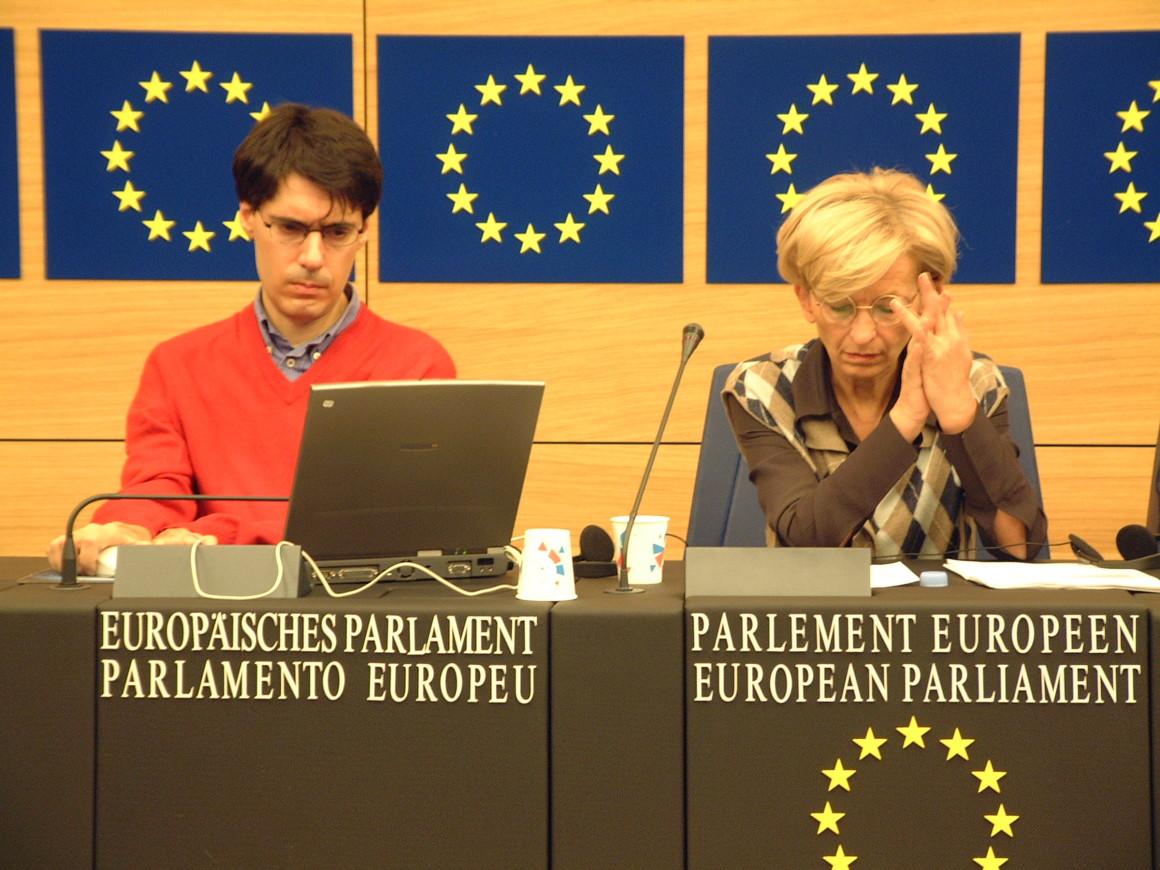 Luca Coscioni e Emma Bonino