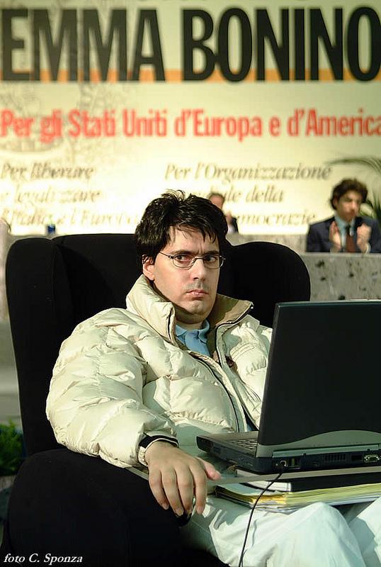 Luca Coscioni al VI Congresso italiano del Partito Radicale Transnazionale