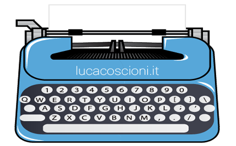 Icona macchina d scrivere