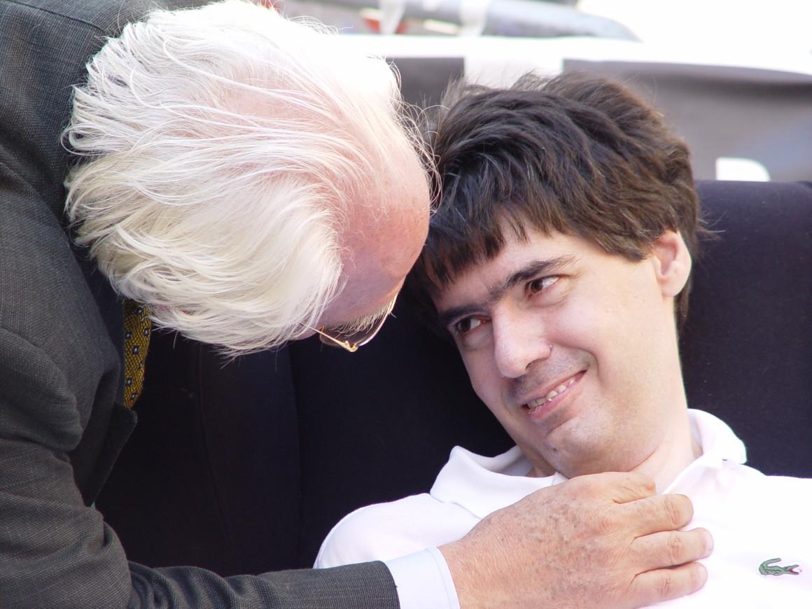 Luca Coscioni e Marco Pannella