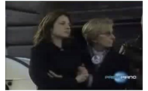 Maria Antonietta Farina Coscioni con Emma Bonino ai funerali di Luca