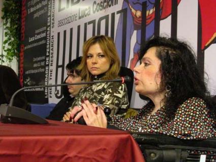 Luca Coscioni, Maria Antonietta Farina e Ilena Argentin